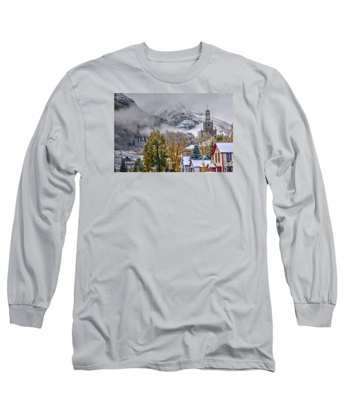 Silverton Colorado Long Sleeve T-Shirt by Charlotte Schafer