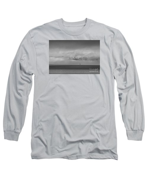 Solitude Long Sleeve T-Shirt by Sean Griffin