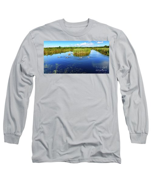 Somerset Levels Long Sleeve T-Shirt by Colin Rayner