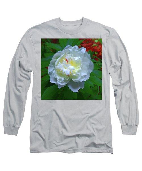 Spring Peony Long Sleeve T-Shirt