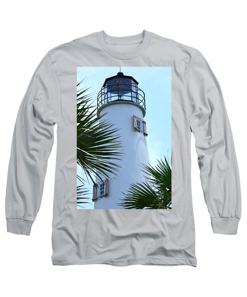 St. George Island Lighthouse Long Sleeve T-Shirt