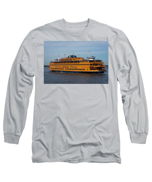 Staten Island Ferry Long Sleeve T-Shirt