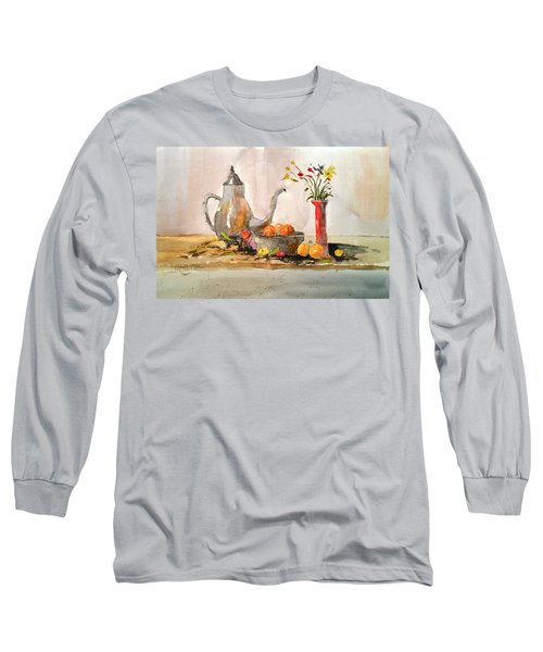 Still Life Long Sleeve T-Shirt by Larry Hamilton