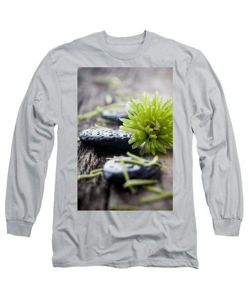 Stones With Water Drops Long Sleeve T-Shirt