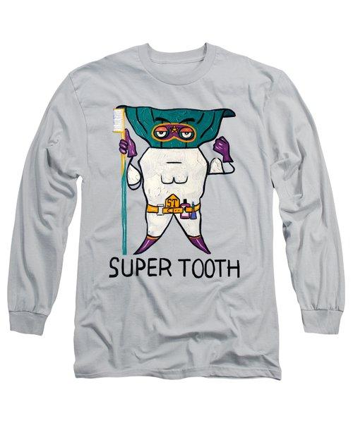 Super Tooth Long Sleeve T-Shirt