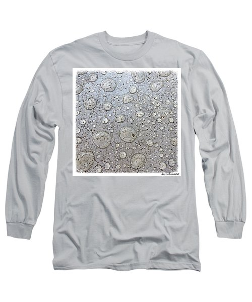 Surprise #thunder #storm This Morning Long Sleeve T-Shirt