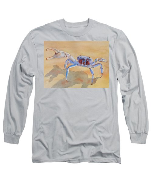 Talk To The Claw Long Sleeve T-Shirt by Judy Mercer