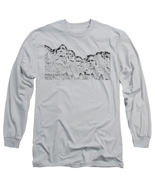 The Four Presidents Long Sleeve T-Shirt