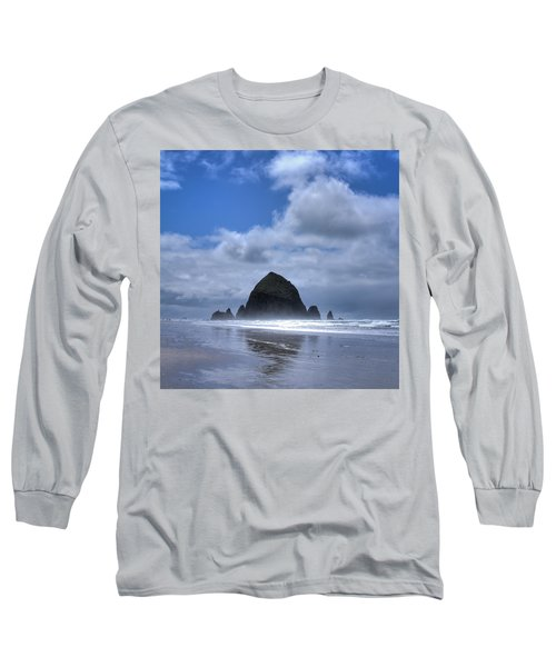 Long Sleeve T-Shirt featuring the photograph The Rock by David Patterson