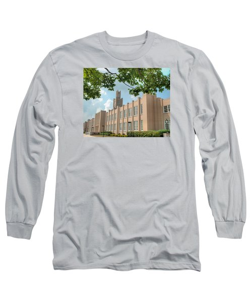 The School On The Hill Long Sleeve T-Shirt by Mark Dodd