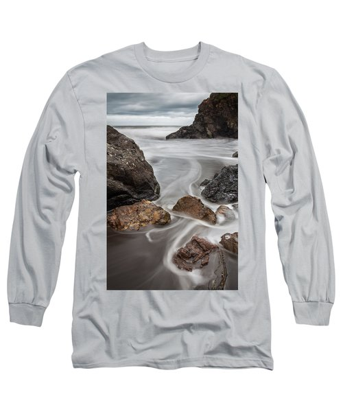 Time And Tide Long Sleeve T-Shirt by Mark Alder