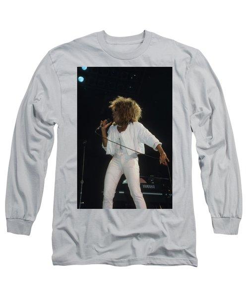 Tina Turner Long Sleeve T-Shirt