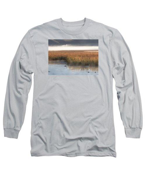 Tranquility Long Sleeve T-Shirt by Elizabeth Eldridge