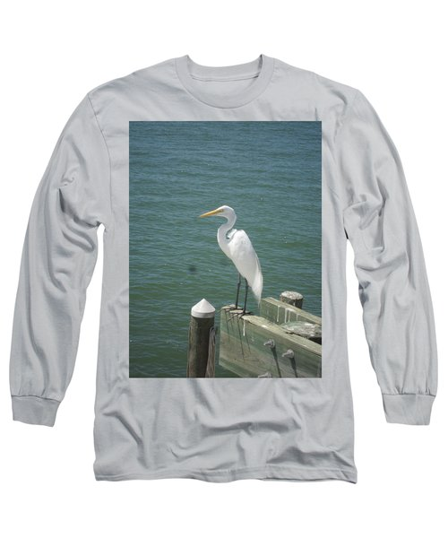Tranquility Long Sleeve T-Shirt by Val Oconnor
