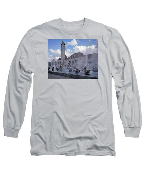 Long Sleeve T-Shirt featuring the photograph Union Station - St Louis by Harold Rau
