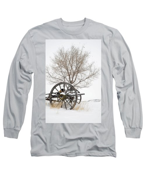 Wagon In The Snow Long Sleeve T-Shirt