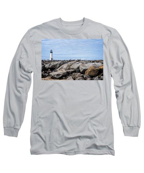 Walton Lighthouse Long Sleeve T-Shirt by James Hammond