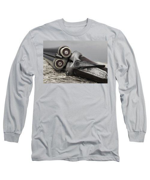 Webley And Scott 12 Gauge - D002721a Long Sleeve T-Shirt
