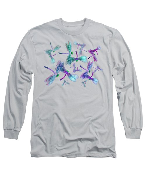 Wings Shirt Image Long Sleeve T-Shirt by Teresa Ascone