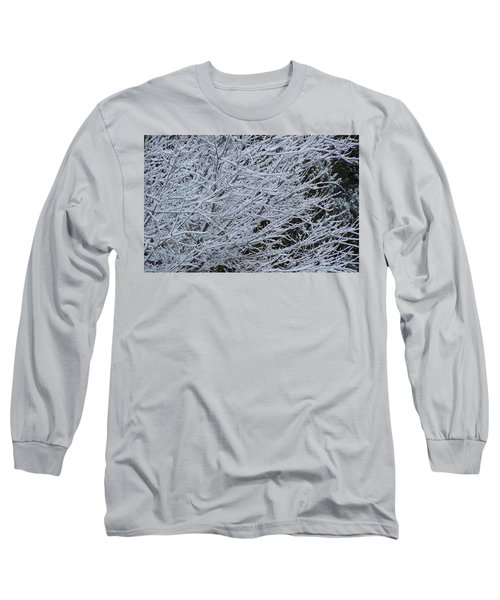 Winter At Dusk Long Sleeve T-Shirt by Pamela Walrath