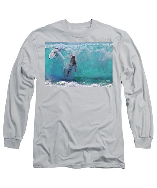 Wipe Out Long Sleeve T-Shirt by Craig Wood
