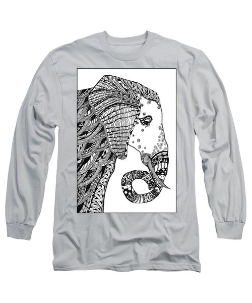 Wise Elephant Long Sleeve T-Shirt