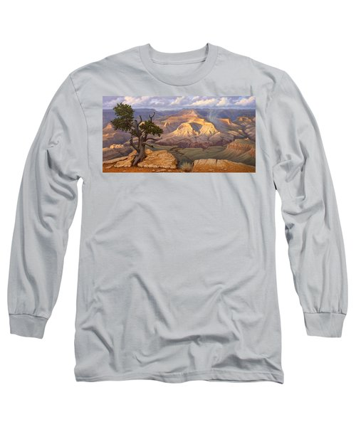 Zoroaster Temple From Yaki Point Long Sleeve T-Shirt