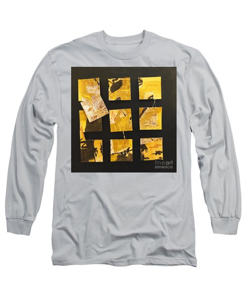 10 Square Long Sleeve T-Shirt by Gallery Messina