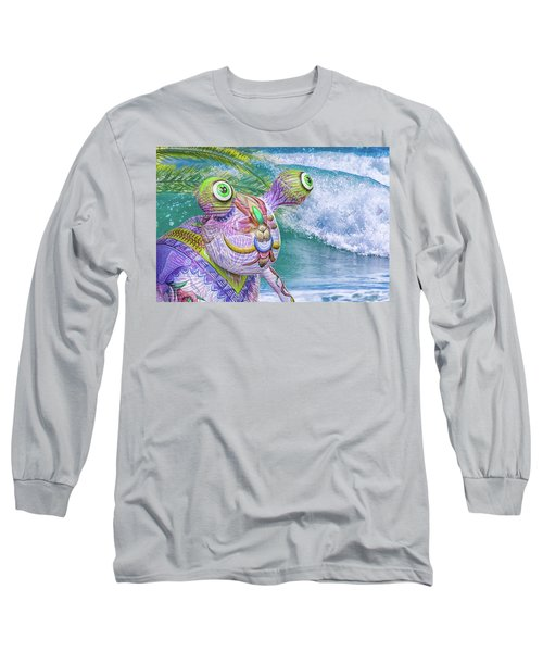 10859 Aliens In Paradise Long Sleeve T-Shirt by Pamela Williams