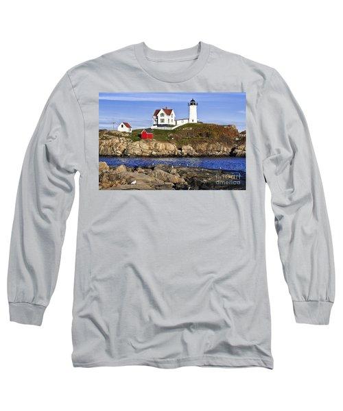 Nubble Lighthouse Long Sleeve T-Shirt