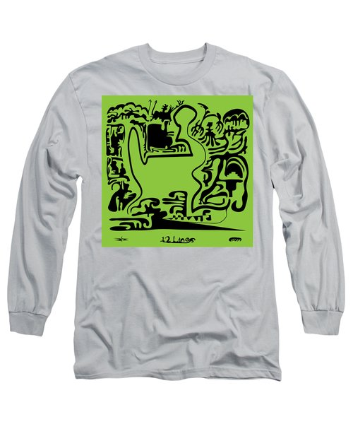 12 Lines Long Sleeve T-Shirt