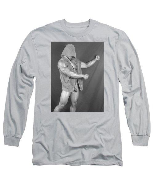 Muscle Art America Long Sleeve T-Shirt by Jake Hartz