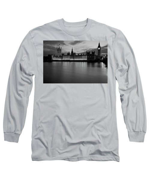 Big Ben And The Houses Of Parliament Long Sleeve T-Shirt by David French