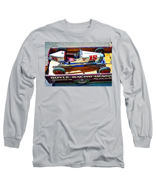 1927 Miller 91 Rear Drive Racing Car Long Sleeve T-Shirt by Josh Williams