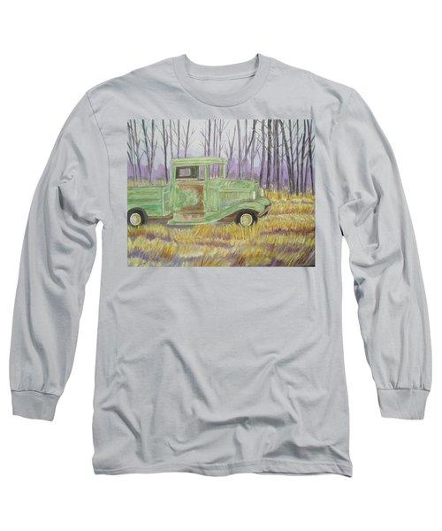 1932  Greenford Pickup Truck Long Sleeve T-Shirt by Belinda Lawson