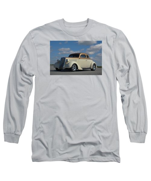 1935 Ford Coupe Hot Rod Long Sleeve T-Shirt by Tim McCullough