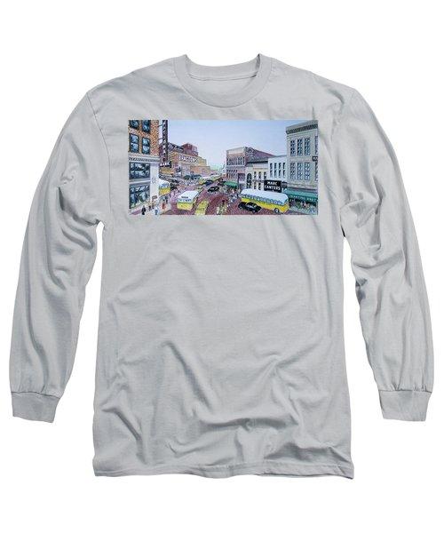 Rush Hour Portsmouth Ohio 1948 Long Sleeve T-Shirt