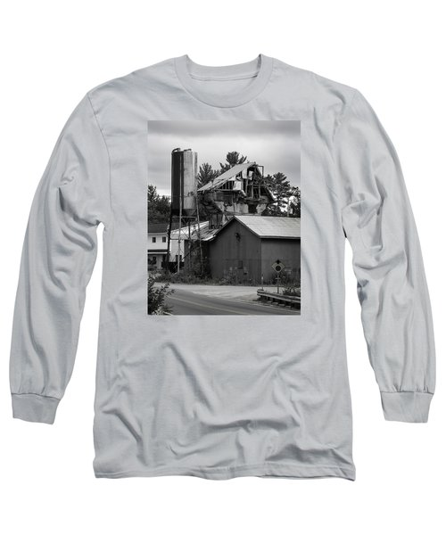 Long Sleeve T-Shirt featuring the photograph 1955 Redi-mix Cement Plant by Betty Denise