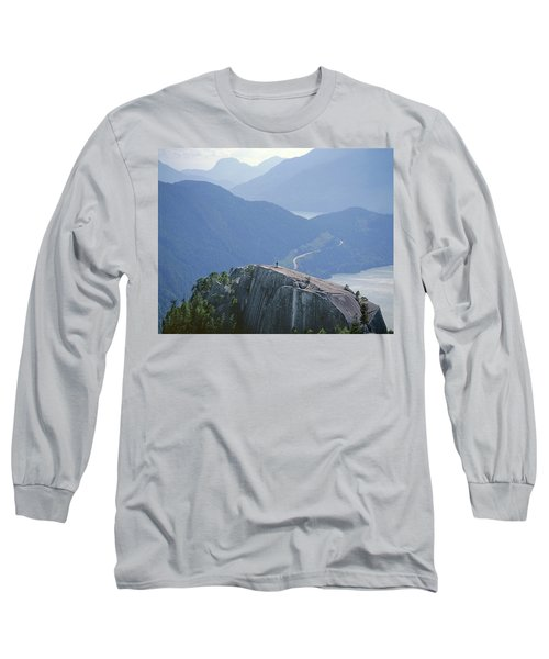 1m2918 South Summit Stawamus Chief From Second Summit Long Sleeve T-Shirt