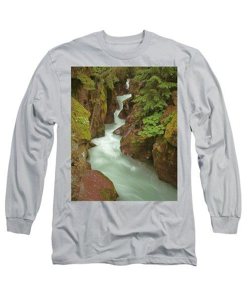 1m8115 Avalanche Gorge Mt Long Sleeve T-Shirt