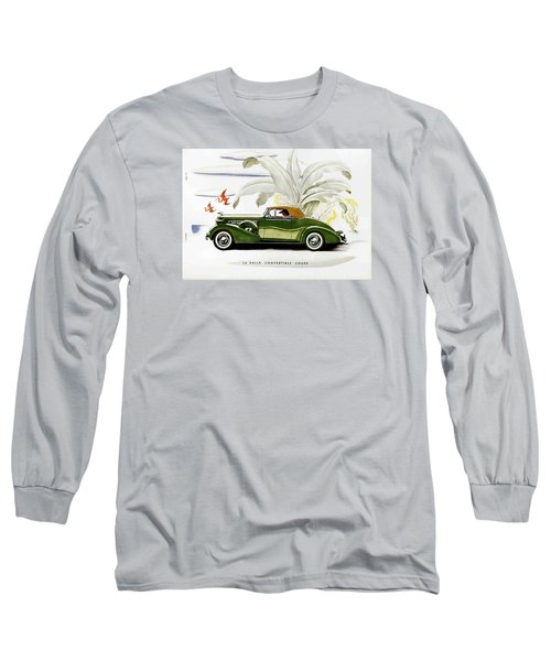 Classic Cars Long Sleeve T-Shirt by Allen Beilschmidt