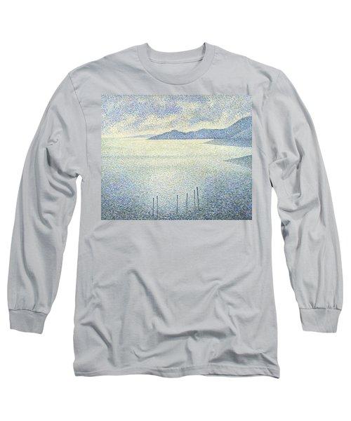 Coastal Scene Long Sleeve T-Shirt
