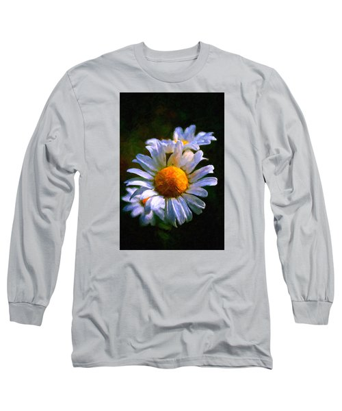Daisy Long Sleeve T-Shirt by Andre Faubert