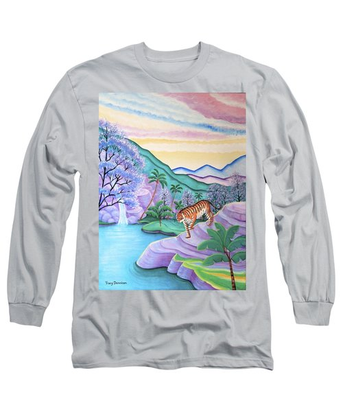 First Light Long Sleeve T-Shirt by Tracy Dennison