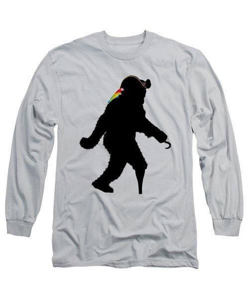 Gone Squatchin Fer Buried Treasure Long Sleeve T-Shirt
