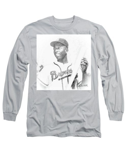 Hank Aaron Long Sleeve T-Shirt