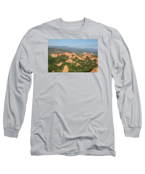 Long Sleeve T-Shirt featuring the photograph Las Medulas by Christian Zesewitz