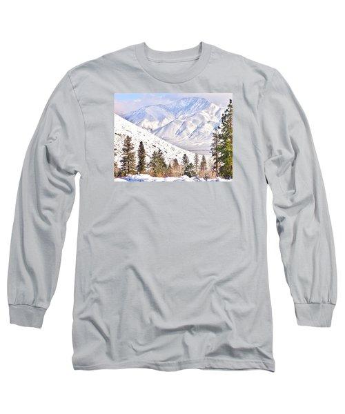 Natural Nature Long Sleeve T-Shirt by Marilyn Diaz