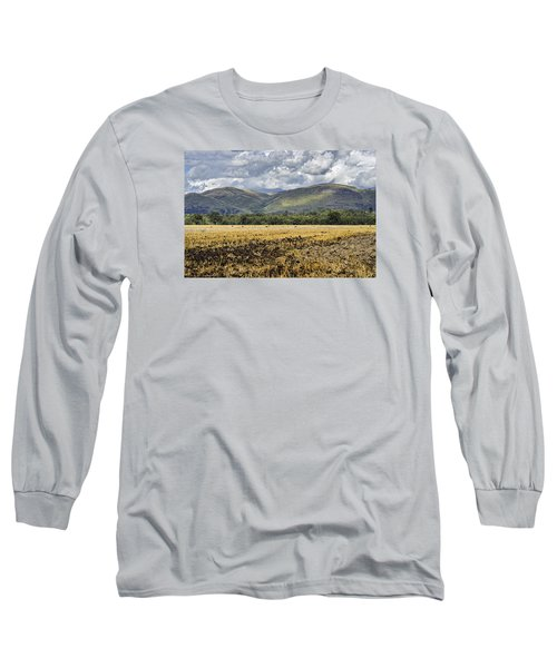 Ochil Hills Long Sleeve T-Shirt by Jeremy Lavender Photography