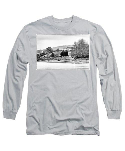 Long Sleeve T-Shirt featuring the photograph Ribera Maninos Fene Galicia Spain by Pablo Avanzini